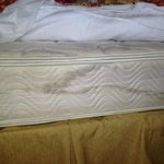 Our mattress, maid said, don't worry, they are all like that