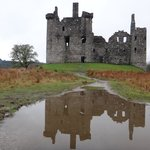 Reflections - Kilchurn Castle.