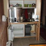 If you are married and your wife cooking well, with this small kitchen you will have great dinne