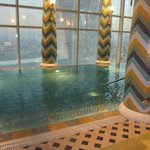 Infinity Edge Indoor Pool