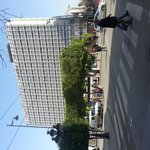  hotel visto dal boulevard Habib Bourghiba