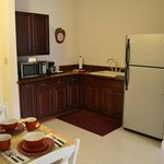 Our Suite's kitchenette