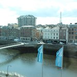  Lovely view of river Liffey