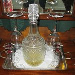 sherry decanter in rooms