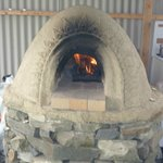 Clay Pizza Oven on site