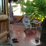  patio, hammock was falling apart