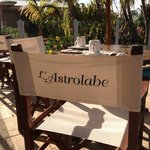 Breakfast room at L'Astrolabe