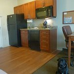  Fully equipped kitchen in Candlewood suites