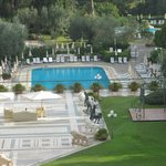 Hotel pools and deck Rome Cavalieri