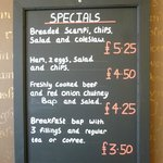  Specials board