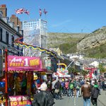Mostyn Street during the annual Llandudno Victorian Extravaganza