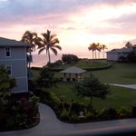 sunrise from our room