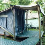  Canvas tent accomodation