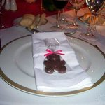  detalle plato hotel melia