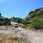  The &quot;driveway&quot; to Erongo Wilderness Lodge