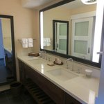 Lovely renovated bathroom in the updated Lagoon tower rooms