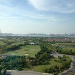  non-lake view from 17th floor- Golf field and Jinjin lake