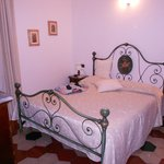"Our ""Small Double Room"" had nice antique furniture, plenty of space, and a sea view!"