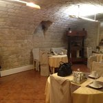 Charming breakfast place in the cellar basement