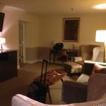  Living Room in the suite