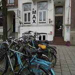 The Hotel, & the bikes to rent