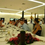  Wedding reception at restaurant