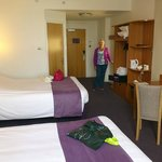 twin room with kingsize beds