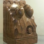  An example of Mouseman carving.