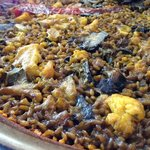  arroz con coliflor y bacalao