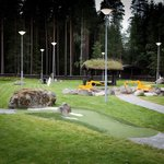  Minigolf and playground area just next to the hotel