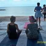 Yoga on the Beach Key West 4-13