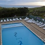  Overlooking the heated outdoor pool