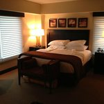  One of 3 private bedrooms in suite