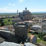  vistas desde el castillo medieval