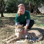 Me and everyone's favorite cheetah, Scarlett