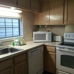 spacious kitchen for 2 bedroom suite