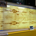 Photographic image of the Shroud of Turin