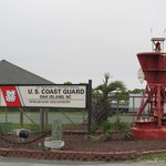 Coast Guard Station next to the Lighthouse