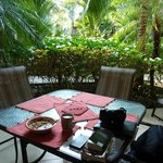 OUTDOOR LANAI DINNING/RELAXING AREA