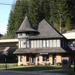 The Historic Train Depot...