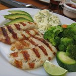 Grilled Fish with Mango Sauce