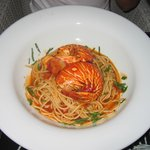  Lobster spaghetti from a la carte menu