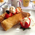 a strawberry brunch -wonderful!
