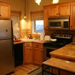 kitchen in cottage