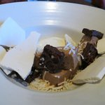 dessert - chocolate with coconut