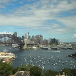 Sydney Harbour Bridge and area
