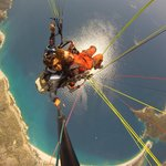 Paragliding Over the Magic Tulip Beach Olu Deniz, Turkey