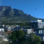  view from the window of Table Mountain