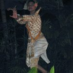 Absara dancer at nightly show