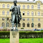  Dvorak Statue